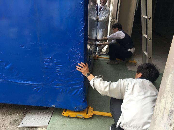 tedom ガスコージェネレーション設置工事