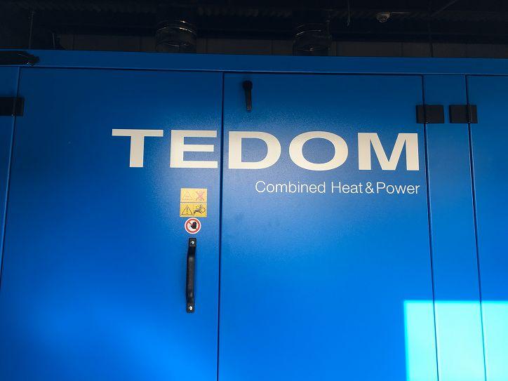 TEDOM コジェネレーションシステム